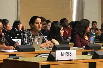 """ד""""ר גלית שאול בוועדת האו""""ם לביעור אפליה נגד נשים"""