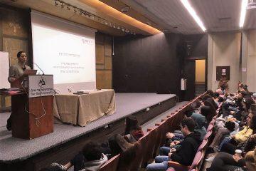 """ד""""ר גלית שאול בהרצאה לתלמידי תיכון מהאוכלוסייה הדתית והחילונית"""