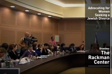 The Hadassah Foundation support for advancing women's rights in Israel