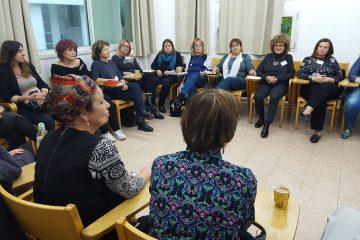 """במסגרת ההכשרה לקבוצת המתנדבות החדשה של פרויקט """"אשה לצדך"""", התקיים פאנל בשיתוף המתנדבות הוותיקות של הפרויקט"""