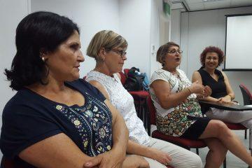 """29.6.17: שבוע שעבר התקיים מפגש הסיום של """"ממשיכות בדרך"""" ירושלים"""